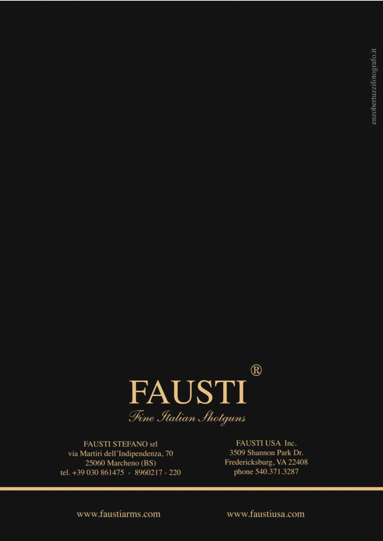 Fausti Price list